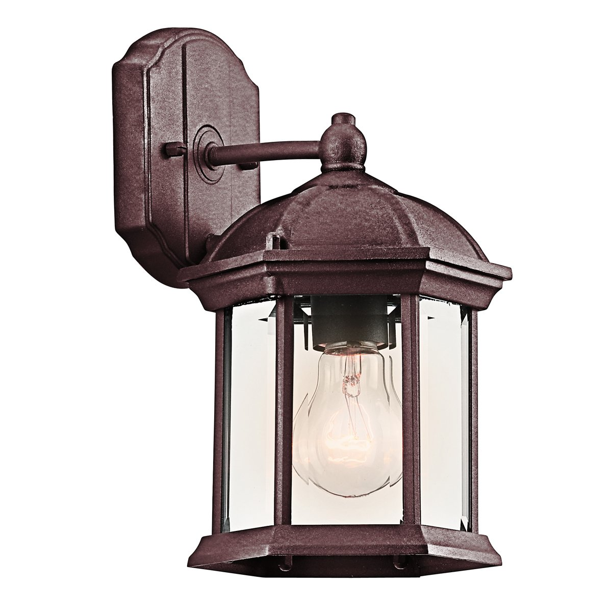 Kichler 49183TZ  Barrie Outdoor Wall Light  Tannery Bronze   Wall Porch  Lights   Amazon comKichler 49183TZ  Barrie Outdoor Wall Light  Tannery Bronze   Wall  . Kichler Lighting Outdoor Sconce. Home Design Ideas