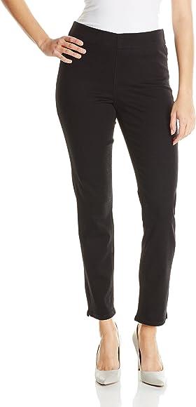 9ec4c6ad5f428 NYDJ Women's Alina Legging Super Sculpting Jeans, Black, 0 at Amazon ...