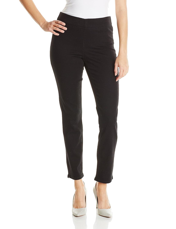 Black NYDJ Women's Alina Ankle Jeans