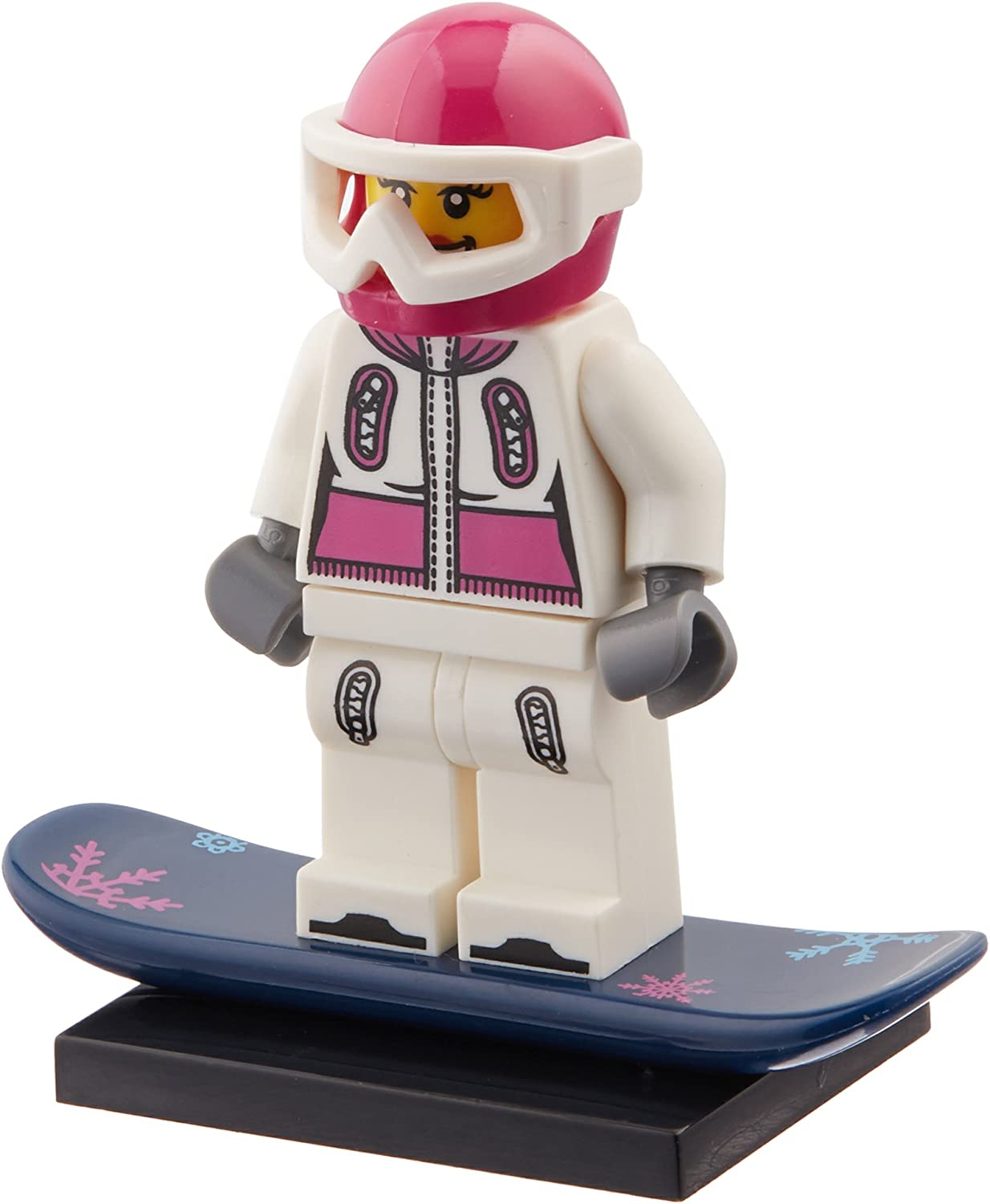 LEGO: Minifigures Series 3 Female Snowboarder Mini-Figure
