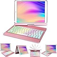 iPad Case Keyboard 10.2 for iPad 8th Generation/7th Gen,Keyboard for iPad 10.2 8th 2020/7th Gen 2019 with Wireless BT 5…