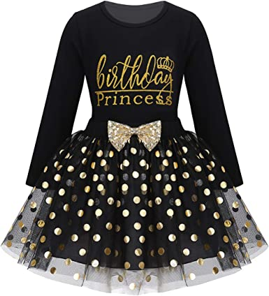 MSemis Baby Girls Fancy Shinny Polka Dots Birthday Outfit Racer-Back Shirt and Mesh Tutu Skirt Set