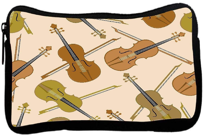 Estuche de violín rojo de cebra impreso para regalo: Amazon ...