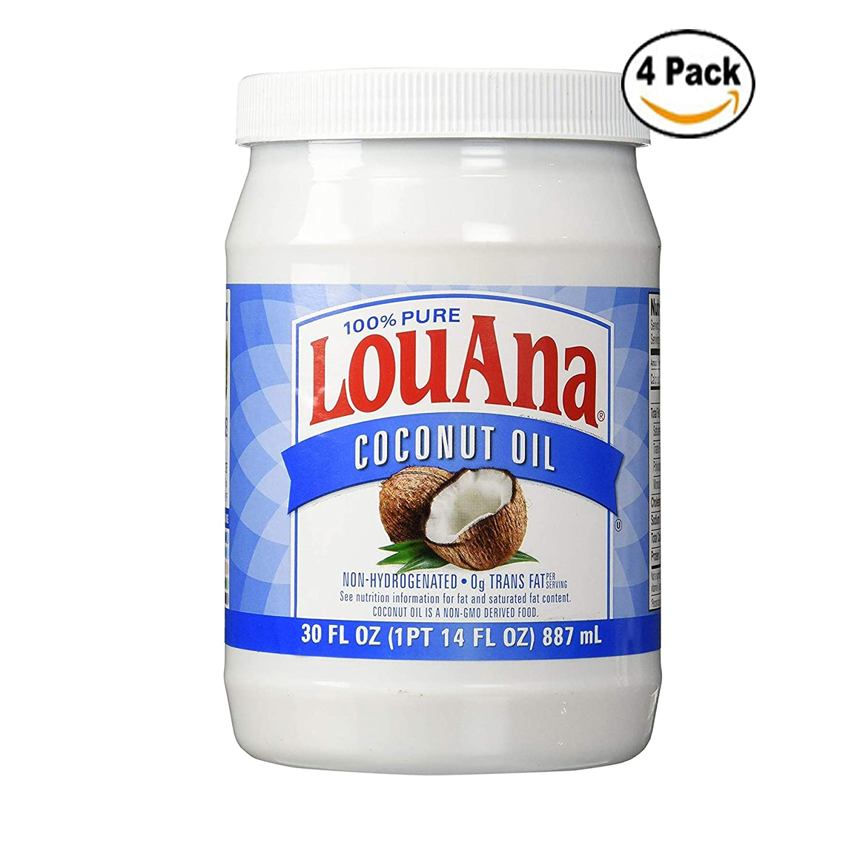 LouAna Pure Coconut Oil (All Natural) 30 fl oz