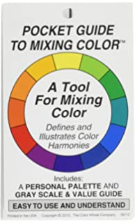 Color Wheel 1 Piece Pocket Guide To Mixing Colour