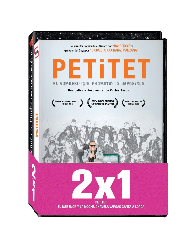 """Pack - Petitet / El Ruiseñor y la Noche. Chavela Vargas canta a Lorca DVD: Amazon.es: Joan Ximénez """"Petitet"""", Chavela Vargas, Carles Bosch, Rubén Rojo Aura, Joan Ximénez """"Petitet"""", Chavela Vargas: Cine"""