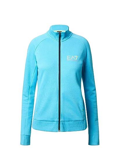 02179253ce EMPORIO ARMANI Ea7 6ZTM25 TJJ5Z Jacket Women Celeste S: Amazon.co.uk ...