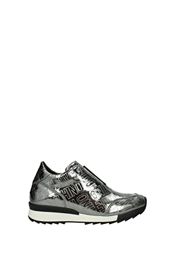 c1a5a8324aa65 Amazon.com: Love Moschino Women's Donna Sneakers (US 8/ EUR 38 ...