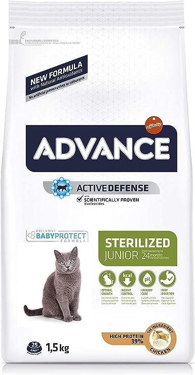 Advance Junior Sterilized - Pienso para Gatos esterilizados de ...