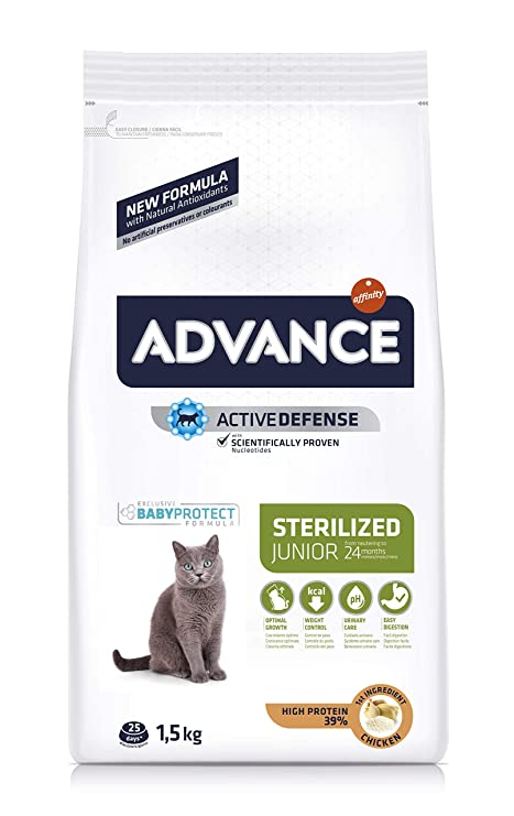 Advance Pienso para Gato Young Sterilized con Pollo - 1500 gr