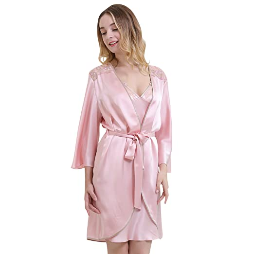 Image Unavailable. Image not available for. Color  Chesslyre Women s 100%  Mulberry Silk Camisole 2 Piece Pajamas d8d8abc2a