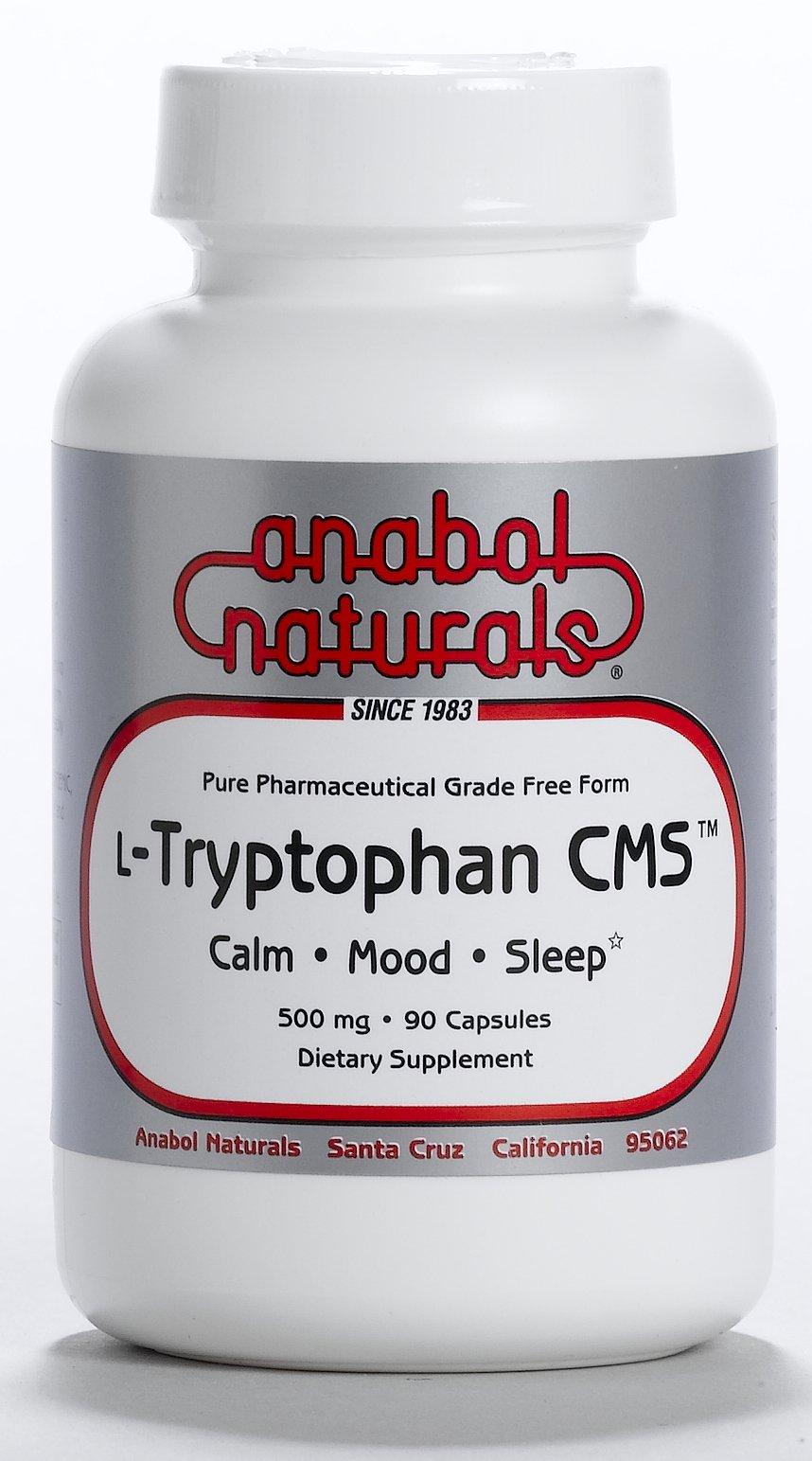 Anabol Naturals L-Tryptophan CMS Calm Mood Sleep 500mg 360 Caps