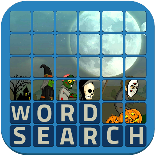 Wordsearch Revealer - Halloween FireTV -