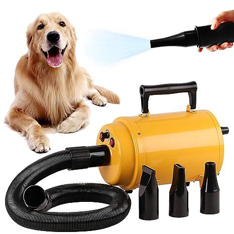 YiToo Perro Pelo Secador Perro Secador Secador Mascotas Mascotas Secador, Soplador Pet Poco Ruido Ajustable