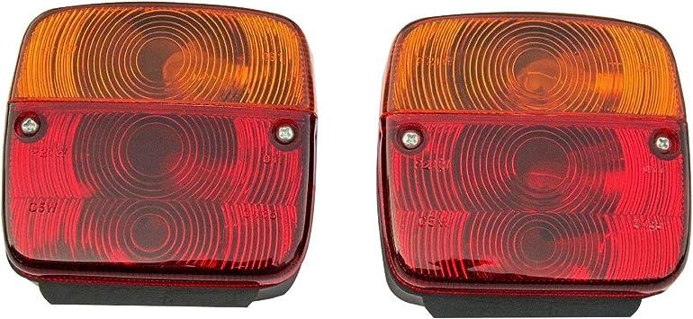 11002302 Blinklicht Für Traktor Anhänger Links Und Rechts Mit Glühbirne 1 Paar Auto