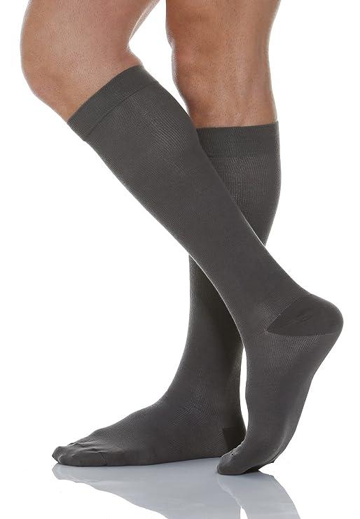 Relaxsan 920 Calcetines hasta la rodilla de algodón Unisex contenitivo con compresión graduada 22-27 mmHg Goq8VBs