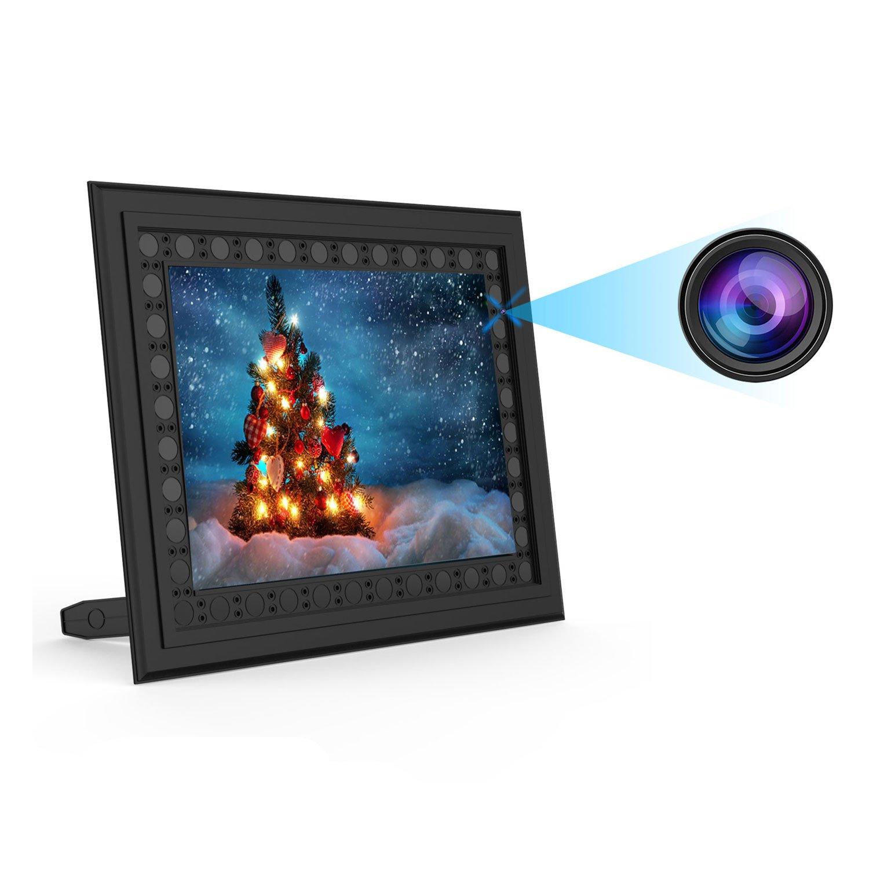 Conbrov T10 HD 720P Photo Frame Hidden Spy Camera Night Vision ...