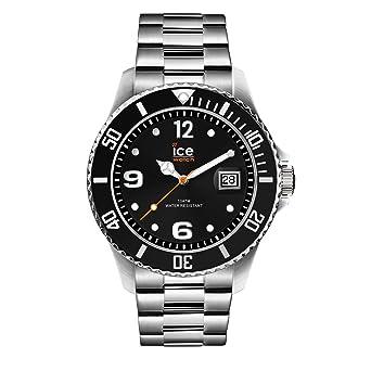 Ice-Watch Reloj Analógico para Unisex Adultos de Cuarzo con Correa en Acero Inoxidable Macizo 16032: Amazon.es: Relojes