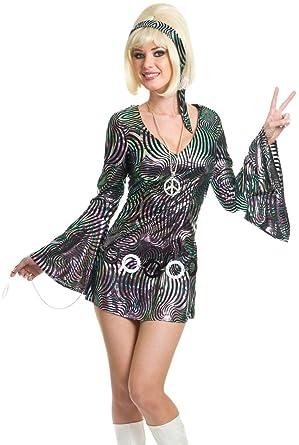 e555bba6222c Amazon.com: Disco Diva Plus Costume for Women: Clothing