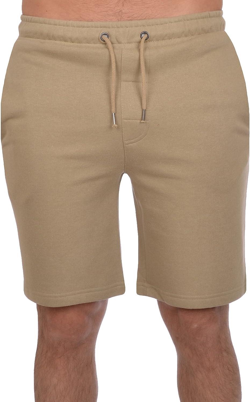 Brave Soul Mens Sweat Comfy Summer Fleece Jersey Baggy Jogging Shorts S-XL