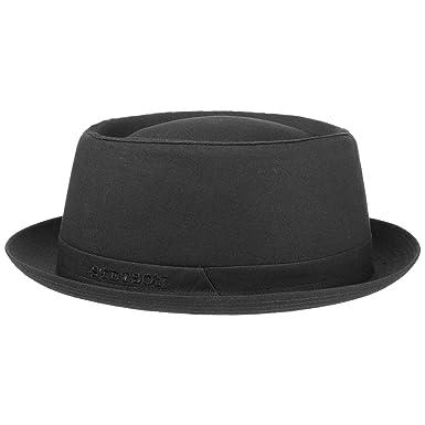 9c57a4d20 Stetson Athens Women's/Men's Cotton Pork Pie hat | Cotton hat | Made in  Italy | Summer/Winter | Men's hat with Lining | Porkpie