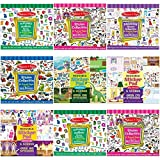 By Melissa & Doug Sticker Pads Reusable Different Designs Arts N Crafts