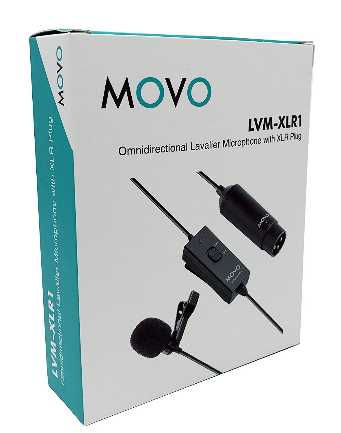 Movo Lvm Xlr1 Self Powered Xlr Omnidirectional Lavalier Electret Microphone To Wiring Together With Sc4060 Dpa Microphones For Mixers Recorders Camcorders More Musical Instruments