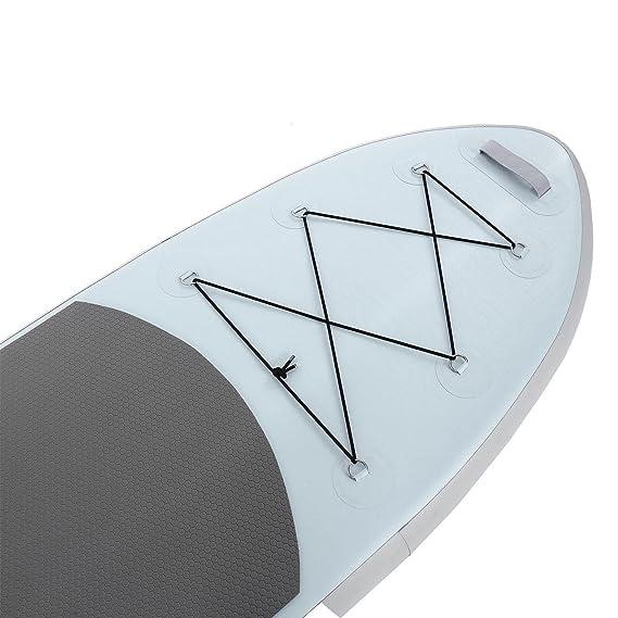 Aimagen, tabla de pádel hinchable para colocar de pie (tablero + ...