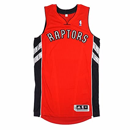 a749a7373 adidas Toronto Raptors NBA Red Official Authentic On-Court Revolution 30  Away Road Jersey for