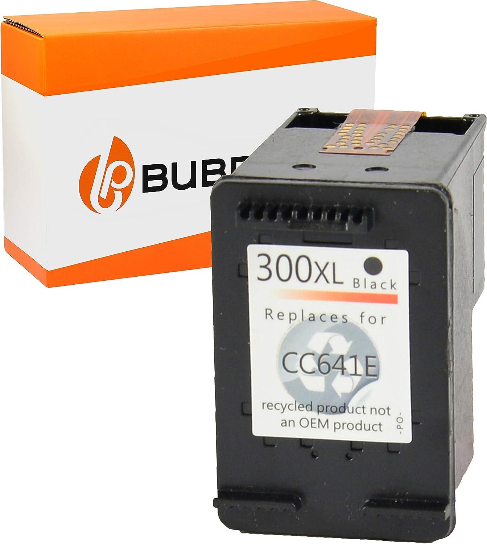 Bubprint Druckerpatrone Kompatibel Für Hp 300 Xl 300xl Für Deskjet D1660 D2560 D2660 D5560 F2420 F2480 F2492 F4210 F4224 F4280 F4580 Envy 110 114 120 Photosmart C4680 C4780 Schwarz Bürobedarf Schreibwaren