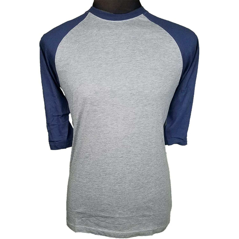 Pro Cube 3/4 Sleeve Raglan Baseball Men's Plain T-Shirts Soft Single Yarn SLIM FIT