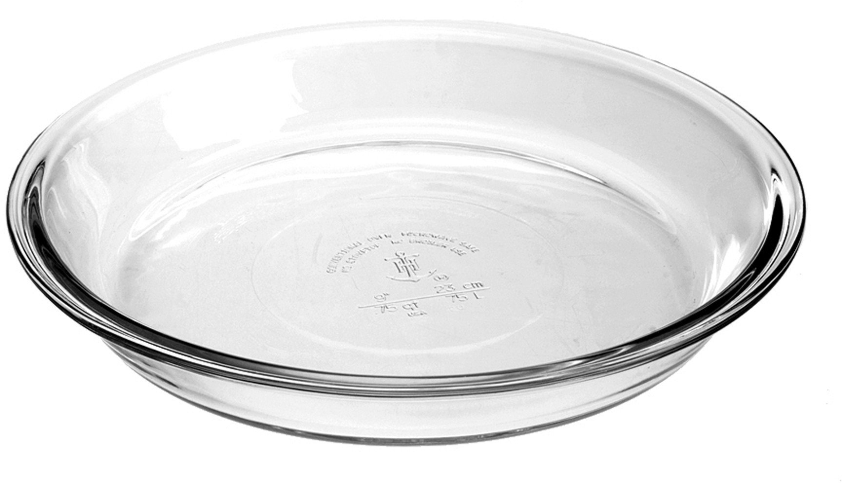 Anchor Hocking Glass Pie Dish, Set of 2 by Anchor Hocking (Image #1)