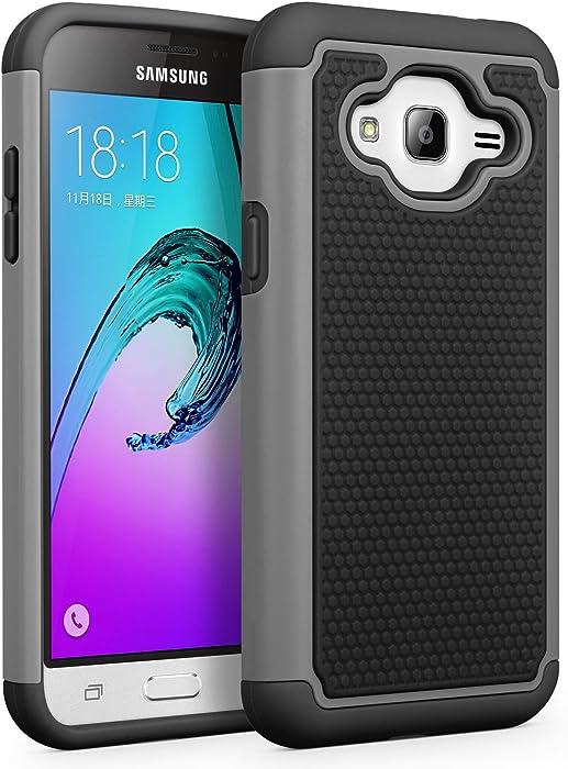 Top 10 Samsung J3 Flip Case 2016 Stylus Nature