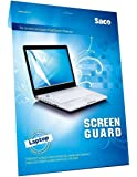 Saco Ultra Clear Glossy HD Screen Guard Scratch Protector for HP Pavilion 13-U004TU 13.3-inch Laptop - 13.3 Inches Laptop