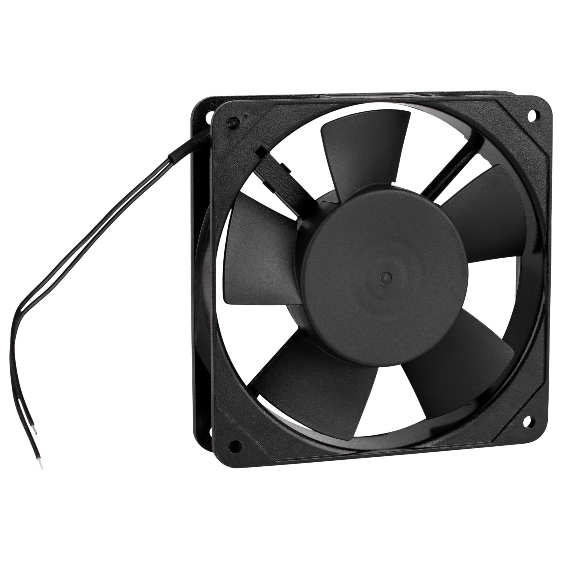 Parts Express Muffin Style Axial Cooling Fan 120 VAC 120 x 120 x 25mm 45 CFM