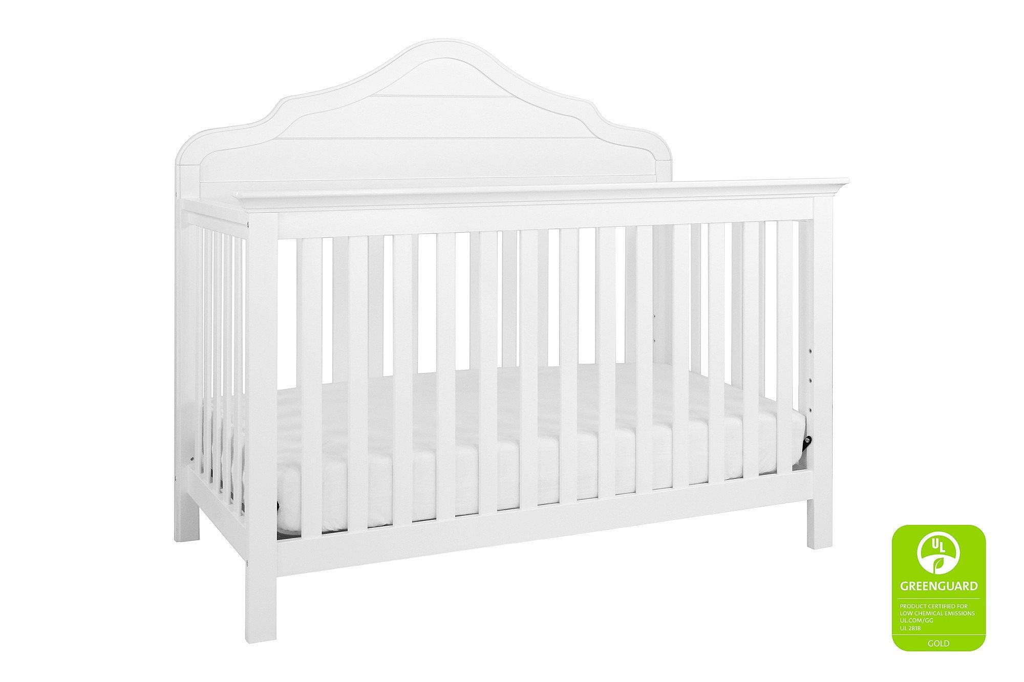 Davinci Flora 4-in-1 Crib Full Size Conversion Kit Bed Rails - White