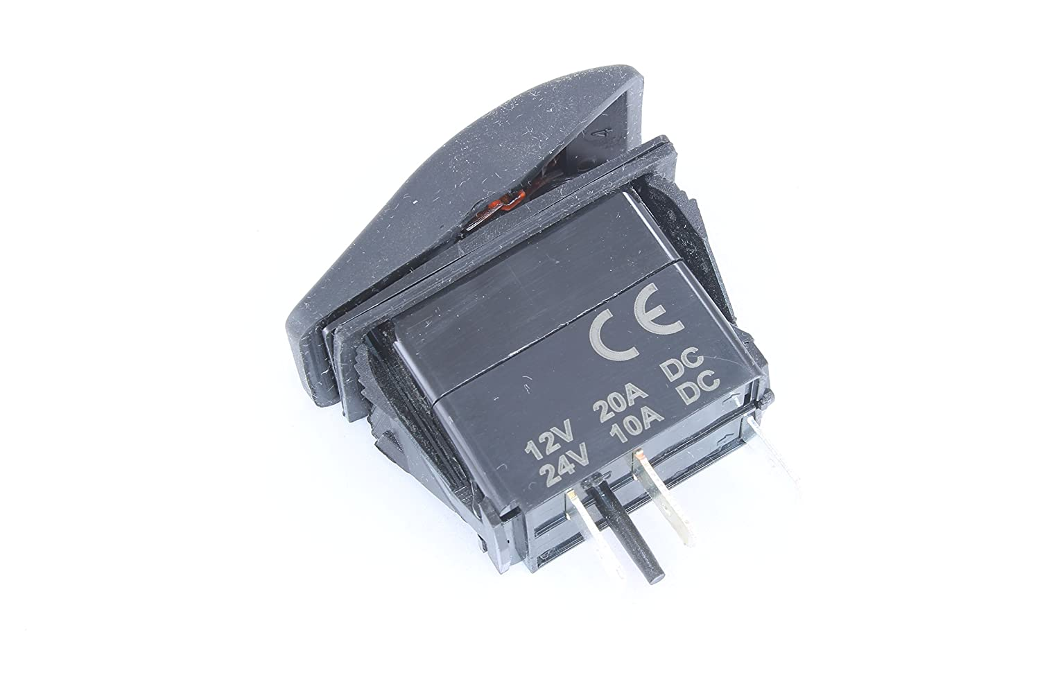 Dc Switch With Led Light Single Pole Throw Rocker Wiring Spst Page Automotive