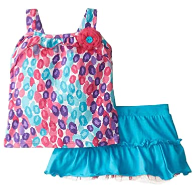 4f7d0beab4 Image Unavailable. Image not available for. Color  Young Hearts Infant  Girls Leopard Print Top ...