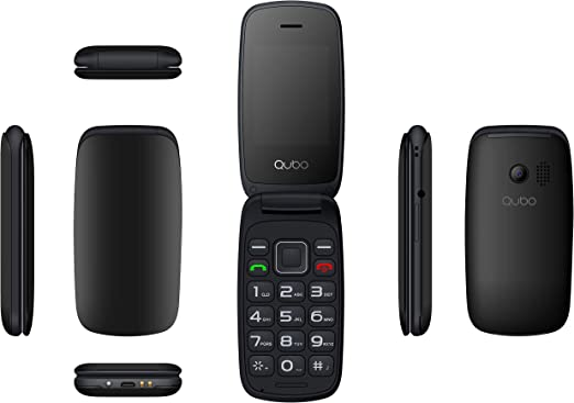Qubo Neo-BK Telefono 2,4