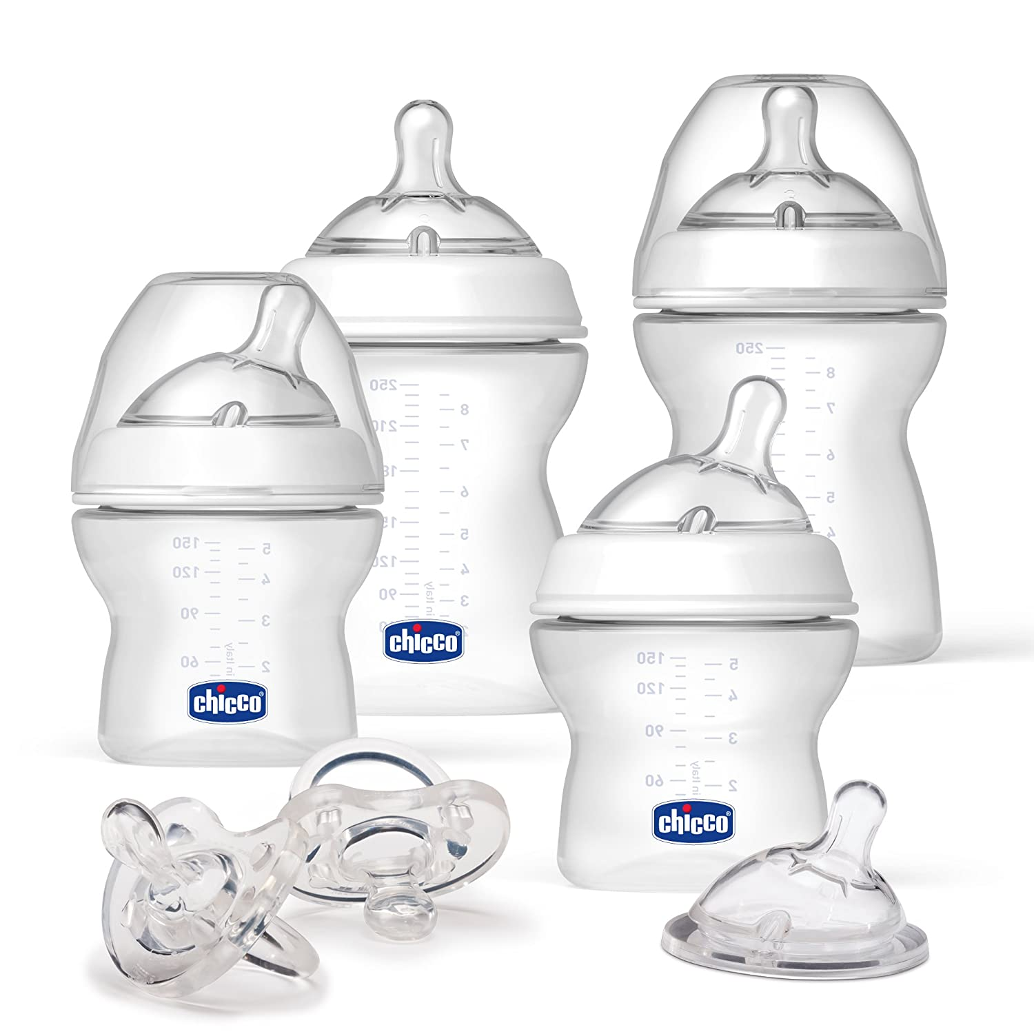 Chicco 8074160 NaturalFit Gift Set-Baby's First Gift Set, White 00080741600070