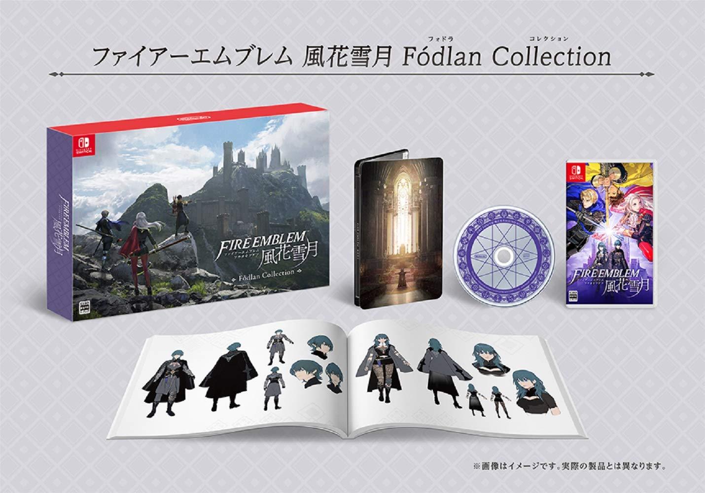 ファイアーエムブレム 風花雪月 Fódlan Collection -Switch 【Amazon.co.jp限定】オリジナルパノラマ色紙 付