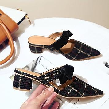 Schuhe Der Damen Kleid Hausschuhe Sommer Frauen Gaolim BaotouHalb 76bfyvYg