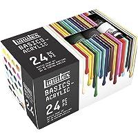 Liquitex Basics Acrylic Paint Tube 24 Tube Set Blue