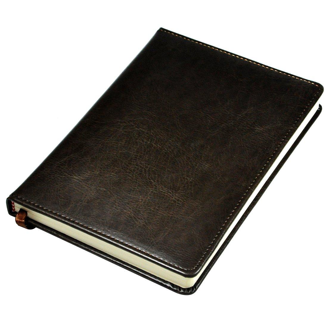Littfun Leather Journal (Diary, Notebook) (Brown)