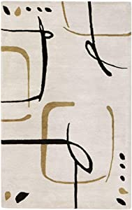"""Home Decorators Collection Fragment Area Rug, 5'3""""x8', Snow"""