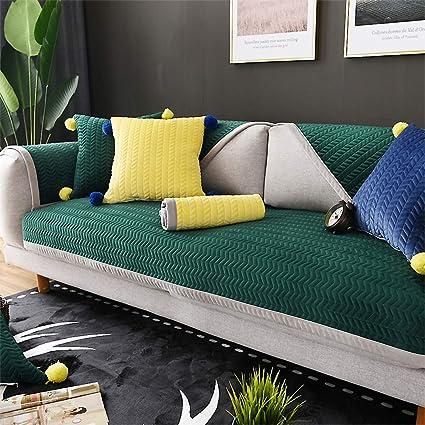 Amazon.com: Thicken Short Plush Sofa Cushioning,Non-Slip ...