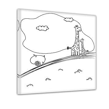 Bilderdepot24 Giraffe Auf Der Wiese Ausmalbild Auf