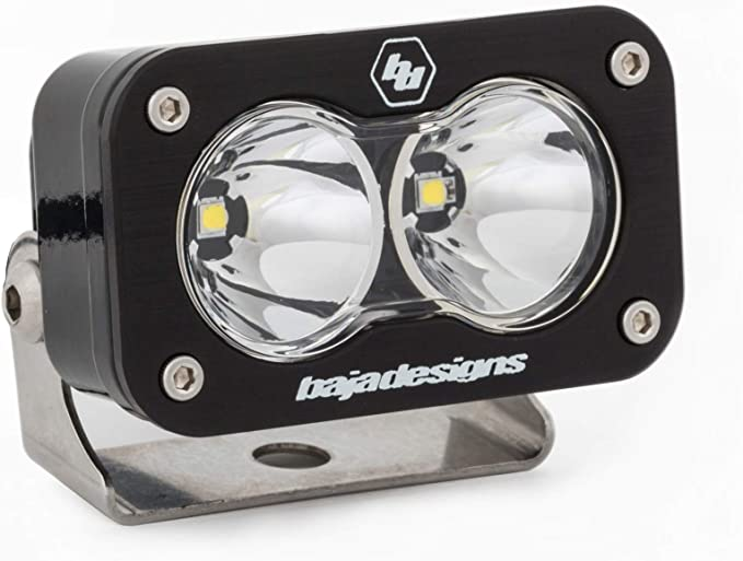 Baja Designs S2 PRO Flush Mount ATV LED Light Flood Work Pattern