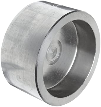 304/304L Forged Stainless Steel Pipe Fitting, Cap, Socket Weld, Class 3000,  1/4