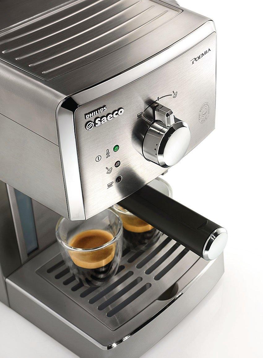 Saeco Poemia HD8327/47 - Cafetera (Máquina espresso, 1 L, De ...